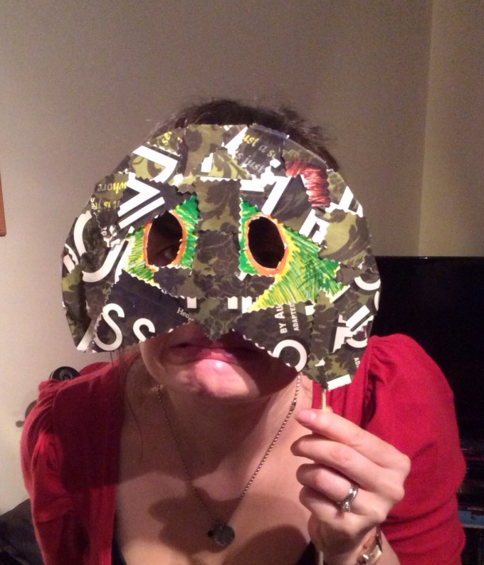 Make your own mask - the tortoise