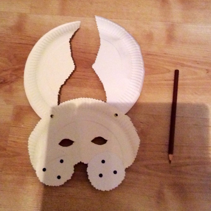 How to make a mask - step 3