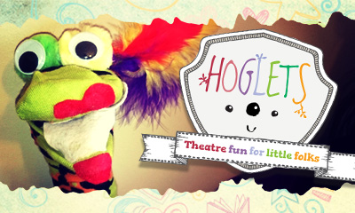 Sock puppets at Hoglets classes