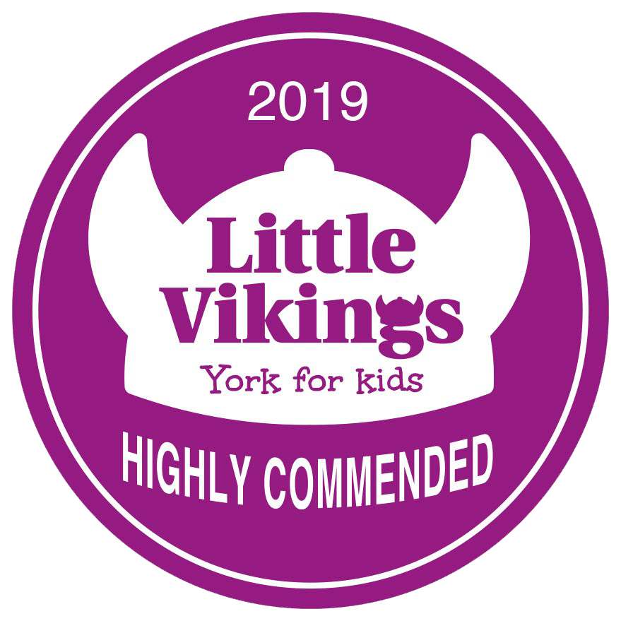 Little Vikings Awards - Highly Commended 4 years running
