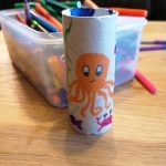 Hoglets craft - make your own binoculars - step3