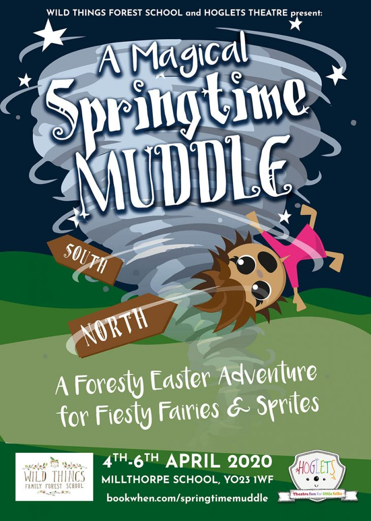 Magical Springtime Muddle poster