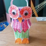 Make your own WOW Owl lantern - step 5