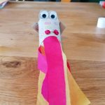 Hoglets craft - make a fire breathing dragon