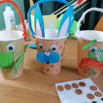 Hoglets craft - make a bunny bucket