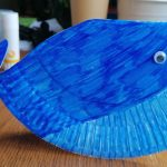 Hoglets craft - make a rocking whale craft