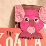hoglets craft - make a koala bookmark
